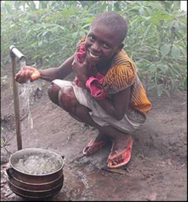 Ghana under water-stress threat